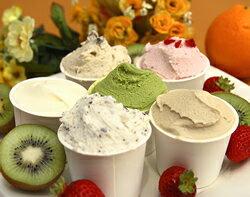 市場直営!人気のジェラートアイス 小カップ6個おためしセット(ミルク、こしあま、チョコチッ...