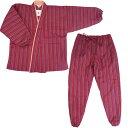 作務衣 さむえ さむい レディース 冬用 綿入れ 女性 中綿入り ルームウェア 3