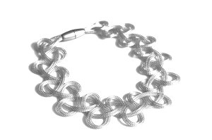 送料無料マテリアデザインイタリア製ネックレス「lace」