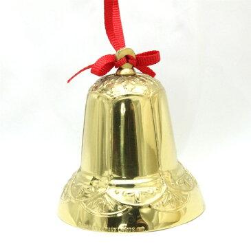 【 X'mas Bell 】 1982年 クリスマス ブラス ベル クリスマスツリー オーナメント プレゼント ギフト クリスマス ヴィンテージ 雑貨 Brass 金属製 ホールマーク アメリカ 【中古】 02P19Dec15