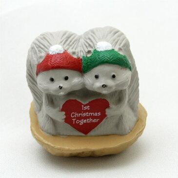 【 X'mas 】 1992年 クリスマス グレーのリス 初めてのクリスマス ツリー キープセーク オーナメント りす 栗鼠 プレゼント ギフト クリスマス ヴィンテージ Hallmark ホールマーク アメリカ 【中古】 0824楽天カード分割 02P20Oct16 02P28Oct16 02P05Nov16