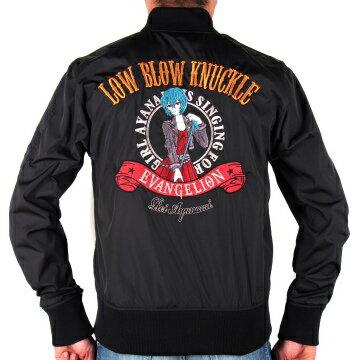 メンズファッション, コート・ジャケット EVANGELION LOW BLOW KNUCKLE MA-1 541352MXXL2021