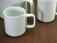 HasamiPorcelainマグカップMサイズHPW020【コーヒーカップ/コップ/陶器カップ/陶器製/白い食器/ホワイト/WhitePorcelain/MugCup/ハサミポーセリン】【楽ギフ_包装】