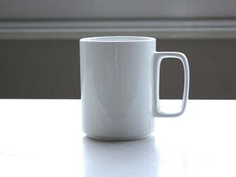 HasamiPorcelainマグカップLサイズHPW021【コーヒーカップ/コップ/陶器カップ/陶器製/白い食器/ホワイト/WhitePorcelain/MugCup/ハサミポーセリン】【楽ギフ_包装】