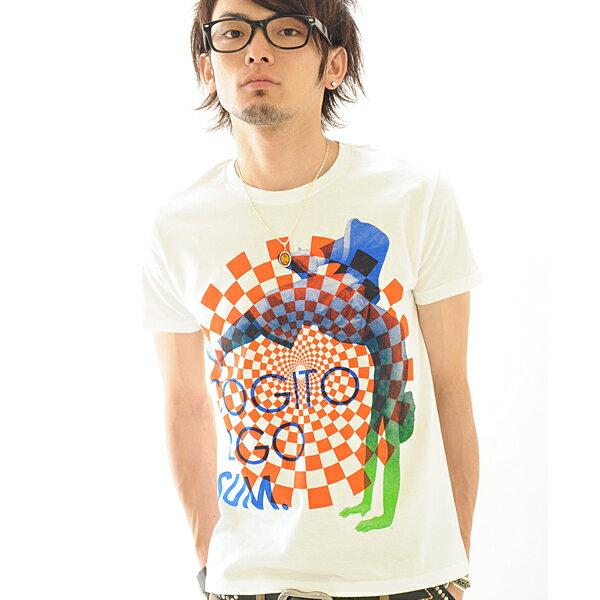 Tシャツ 半袖 COGITO ERGO SUM 【conception design /SS】Tシャツ メンズ レディース プリント XS〜Lサイズ ホワイト グレー Sイエロー 服画像
