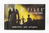 ◎【X FILES/Xファイル】『ポストカードブック/MONSTERS AND MUTANTS』海外ドラマ・SF・UFO・エイリアン・アメリカ雑貨