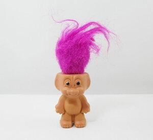 トロール人形 『パープルヘア』 (S:6cm)