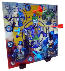 BATMAN バットマン 3DダーツボードSUPER 3-D DARTBOARD・DCコミック DC アメキャラ アメコミ アメリカン雑貨 アメリカ雑貨 アメ雑 ジョーカー JOKER