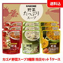 カゴメ 野菜スープ3種類 SO-30