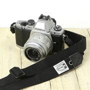 カメラストラップ ブラック