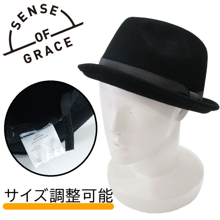 メンズ帽子, ハット SENSE OF GRACE VINCENT HAT WEST