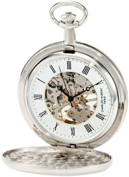 チャールズヒューバート Charles-Hubert, Paris 懐中時計 ポケット ウォッチ ホワイト 3909-W 送料無料 【並行輸入品】