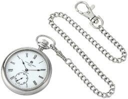チャールズヒューバート Charles-Hubert, Paris 懐中時計 ポケット チェーン ウォッチ ホワイト 3756-WR 【並行輸入品】