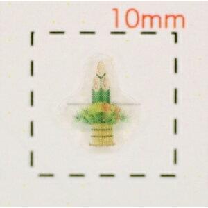 Kadomatsu (2) [ملصق الأظافر على النمط الياباني (احتفال رأس السنة / الكبار)] / 16 ورقة لكل ورقة
