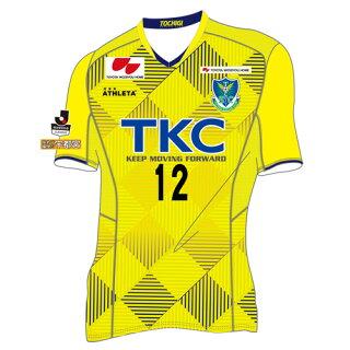 2018栃木SCレプリカユニフォーム1ST(フィールドプレイヤー用半袖)<ユニフォーム+背番号・胸番号「12」>※第一次予約受付