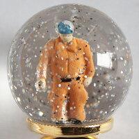 lilldesignlab(リルデザインラボ)SnowGlobeRing消防署の人