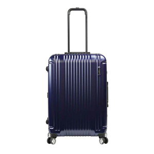 【ポイント10倍 クーポン配布中】 BERMAS PRESTIGE III バーマス プレステージ3 スーツケース ハードキャリー フレームタイプ 4輪 62cm 66L ネイビー 6028160
