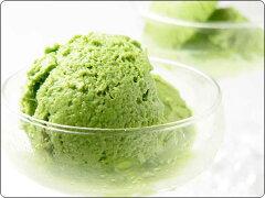 宇治抹茶アイスの素(ミックス粉) [牛乳で簡単に作れる、 ジェラート風食感の抹茶アイス] ...