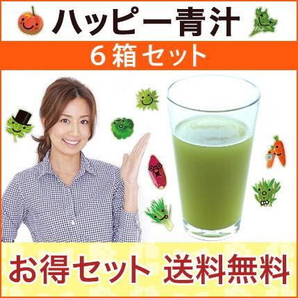 東原亜希のハッピー青汁6箱セットHAPPY AOJIRU2.5g×40包入×6箱セット