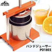 Mt.SUMI(マウント・スミ)果汁搾り機L・直径12cmステンレス製