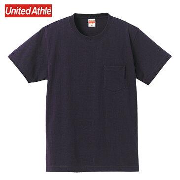Tシャツ メンズ 半袖 無地 スーパーヘビーウェイトポケットTシャツ United Athle ユナイテッドアスレ Tシャツ 7.1オンス S M L XLサイズゆうパケット不可