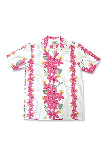 【レンタル】アロハシャツ Type F ホワイト