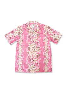 【レンタル】アロハシャツ Type F  ピンク