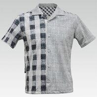 GrungeCheck(グランジチェック)オープンシャツ