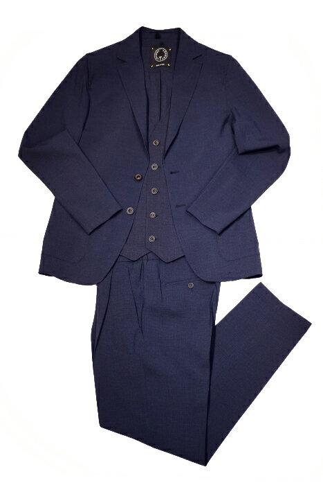 【SALE商品】ティージャケット トネッロ /t-jacket tonello /セットアップ/ウールストレッチ/ネイビー