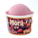 すっきりとした酸味のベリーで、特に女性に人気♪モラアイスクリーム(Mora Ice Cream)