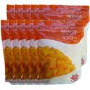 業務用サイズ5kgでこのお値段♪南米最高級ケント種 完熟アップルマンゴー(マンゴーチャンク/Mango Chunks) 1袋マンゴー5個分500g×10袋