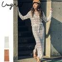 Ungrid(アングリッド)クロシェパッチワークニットスカート(111720817701)2017Spring新作 タイトスカート レディース カジュアル 送料無料 代引手数料無料