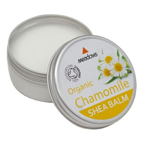オーガニックシアバーム カモミール50ml メドウズ meadows シアバター