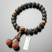 数珠、虎目石