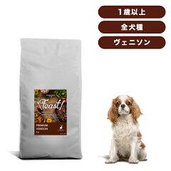 INUMESHI フィースト プレミアム ヴェニソン 成犬用 全犬種用 1歳以上 12kg ブリーダーパック 穀物不使用 (グレインフリー)[INUMESHI]