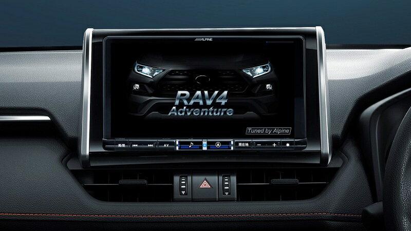 カーナビ・カーエレクトロニクス, オーディオ一体型ナビ  ALPINE RAV4 9 X BIGX 2021