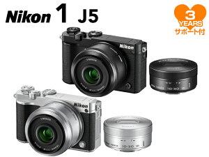 【ポイント10倍&購入特典付!】【予約受付中】Nikon 1 J5 ダブルレンズキット