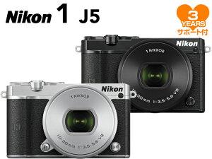 【ポイント10倍&購入特典付!】【予約受付中】Nikon 1 J5 標準パワーズームレンズキット