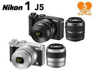 【ポイント10倍&購入特典付!】【予約受付中】Nikon 1 J5 ダブルズームレンズキット