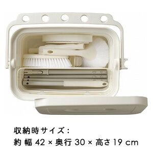 【クーポン配布中★】大掃除ユニットバスボンバススポンジタイルブラシSATTO(サット)バケツバスセットpt1