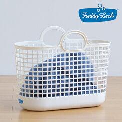 ランドリーバスケット/洗濯かご【スリム】(持ち手