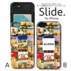 iPhoneX iPhone8ケース iPhone7 iPhone7 plus iPhone6s/6 GalaxyS9 ケース ICカード 背面 スライド収納 耐衝撃 磁気干渉防止シート付き おしゃれ かわいい ケース スマホケース ハワイ アロハ ハワイ語 photo aloha hawaii 可愛い おとな