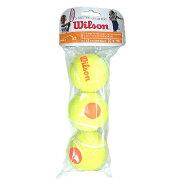 【即納】Wilsonスターターゲームボール3個入り<StarterGameBall3Ball>【テニスアクセサリー】