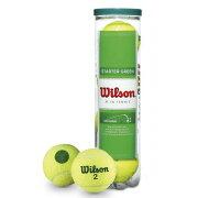 【即納】Wilsonスタータープレイボール4個入り<StarterPlayBall>【テニスアクセサリー】
