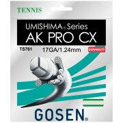 ゴーセンガットAKプロCX1.24mm(TS761)<GosenAKProCX17String>【テニスガット】