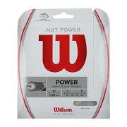 ウィルソンガットNXTPOWER17/1.26mm(WRZ941700)<WilsonNXTPOWER17>【テニスガット】