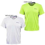 バボラジュニアテニスウェアパフォーマンスクルーネックシャツ(2BS16011)