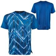 アスレチックDNAジュニア(ボーイズ)テニスウェアスプリングメッシュマッチクルーシャツUpandDown