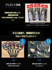 ウィルソンテニスラケットウルトラツアー100CV(WR006011S)