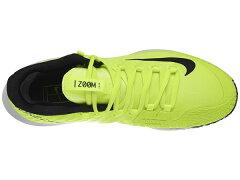 ナイキメンズテニスシューズコートエアズームゼロHCPRM(ハード・オールコート用)ボルトグロウ×ブラック×ホワイト(A05021・700)